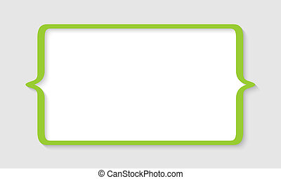 green text box with square brackets