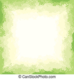 Green Texture - Grunge green vector abstract background