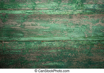 Green texture of Beautiful wooden background