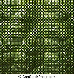green textured abstract background