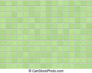 Green Tile Background - High-Res seamless texture, ideal for tiling.