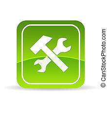 Green tools Icon