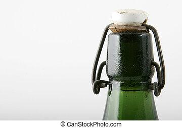 green top of bottle