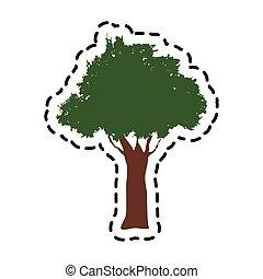 green tree icon