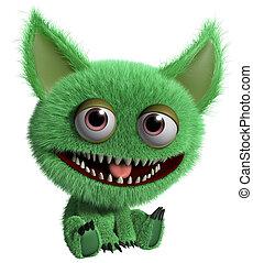 green troll - monster