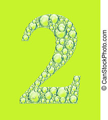 green two bubbles