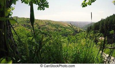 Green valley of Khndzoresk, Armenia