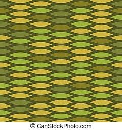 Green vector snake skin pattern