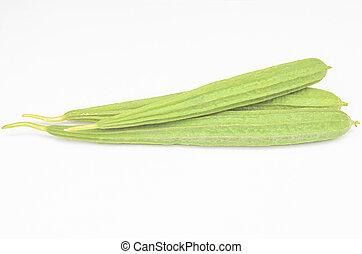 green vegetable angled gourd
