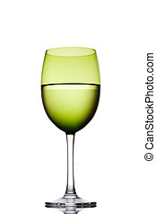 Green vine glass