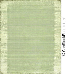 Green Vintage Bamboo Ribbed Background