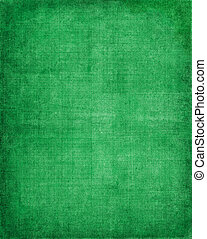 Green Vintage Cloth - Old vintage green cloth with a screen...