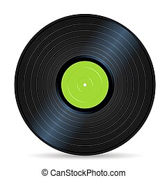 vinyl record - green vinyl record vintage sound stuff