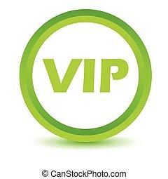 Green vip icon