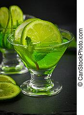 Green Vodka Drink