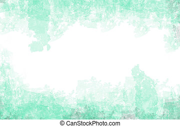 green water color
