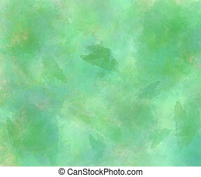 Green Watercolor Background