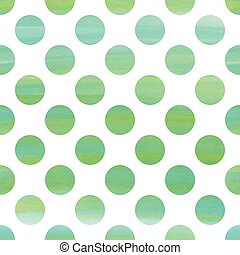 Green watercolor seamless texture