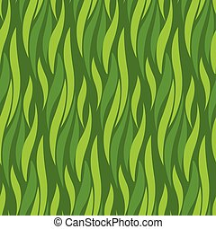 green wave seamless pattern for background, surface design. abstract grass texture illustration for surface design