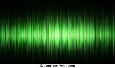 Green waveform