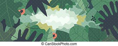 Green web background