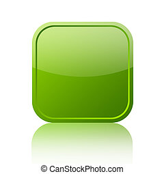 Green web button