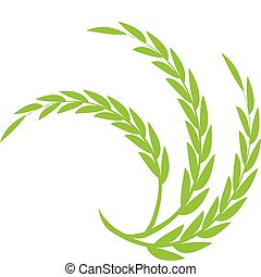 Green Wheat  - Wheat theme