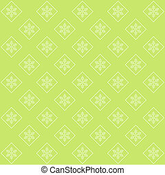 Green winter abstract background.
