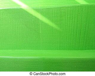 Green Wooden Background