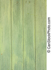Green wooden plank texture as background