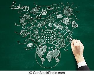 Green world concept