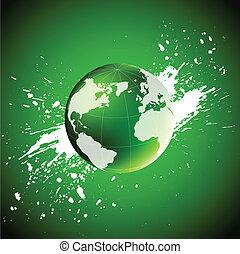 Green world. Ecology concept