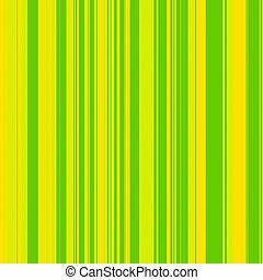 Green Yellow Stripes - Striped pattern in a variety of...