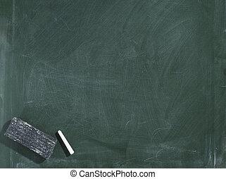 Greenboard/blackboard - Greenboard / chalkboard texture....