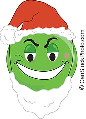 Greenchy face - Smiley type greench face