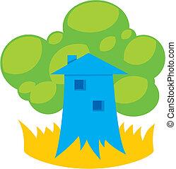 Greener home 2 vector