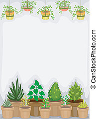Greenhouse Background