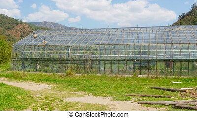 """Greenhouse garden, exterior - """"Greenhouse garden, exterior"""""""