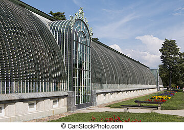 greenhouse in the castle Lednice
