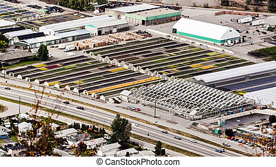 Greenhouses, Agriculture Industry