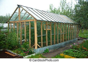 Greenhouses for growing vegetables or flowers in a volatile ...