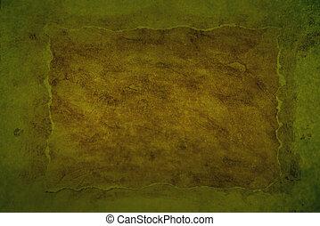 Greenish grungy background