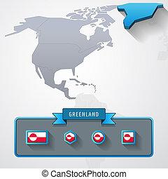 Greenland info card