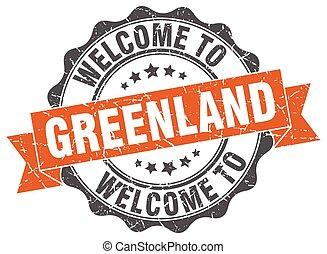 Greenland round ribbon seal