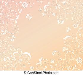 Greeting abstract card