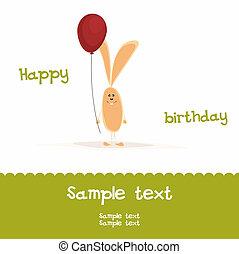 Greeting Birthday Card