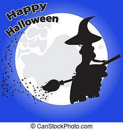 greeting card for Halloween