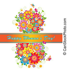 Greeting card for Women's day