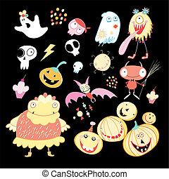 greeting card Halloween