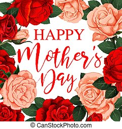 Greeting card Happy Mother's day